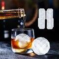 2 вида стилей форма ледяного шара нетоксичный ледяной куб ледяной шар для виски пресс-формы с крышкой бытовой льда лоток Плесень Кухня Фрукт...