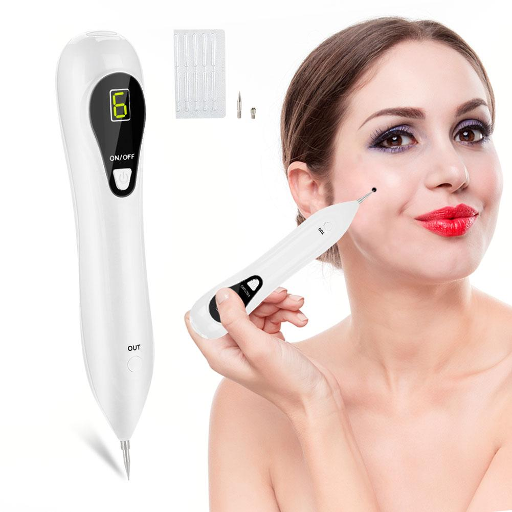 Hot Pro 6 Level LCD Skin Warts Spots Freckle Moles Removal Pen Home Beauty Device