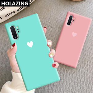 Funda Coque Matching-Color Samsung Galaxy 10-Plus Soft-Silicone-Cover Ultra-Note 9-8-Case