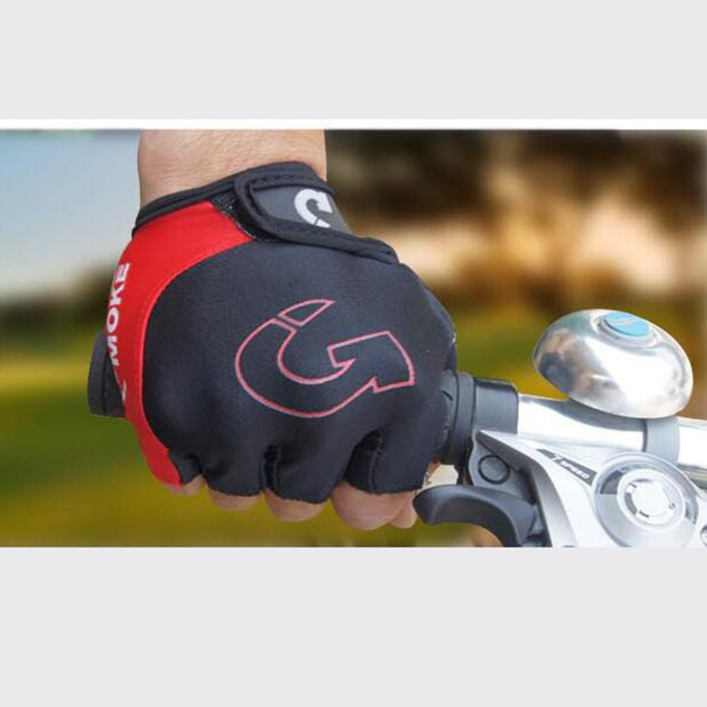 Cycling gloves male half finger bicycle gloves summer mountain bike gloves outdoor riding equipment gloves gel half finger 30N18 (13)