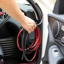 Bandes autocollantes en caoutchouc pour portière de voiture, accessoires pour skoda rapid octavia A2 A4 A5 A7 karoq fabia kodiaql tesla modèle 3