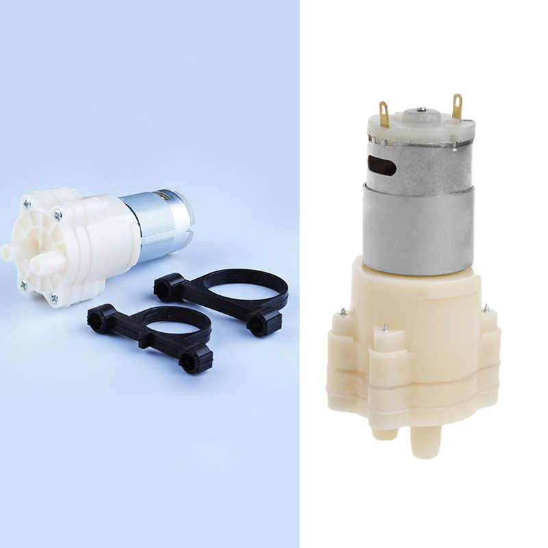 DROP Kapal Priming Mini Diafragma Pompa Semprot Motor 12V Pompa Mikro untuk Dispenser Air