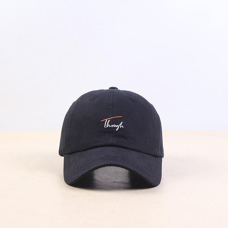 Хип Хоп Регулируемый Дальнобойщик Кепка папа летняя шляпа вышивка хлопок буквы бейсболки женские мужские унисекс Snapback - Цвет: Color   2
