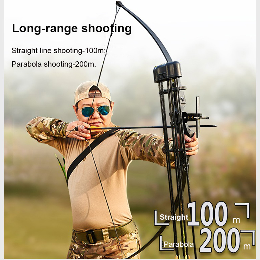 30/40Ibs Take Down Hunting Bow With Bow Sight/Stabilize Recurve Bow Archery Target Block Bow For Beginner Shooting Outdoor