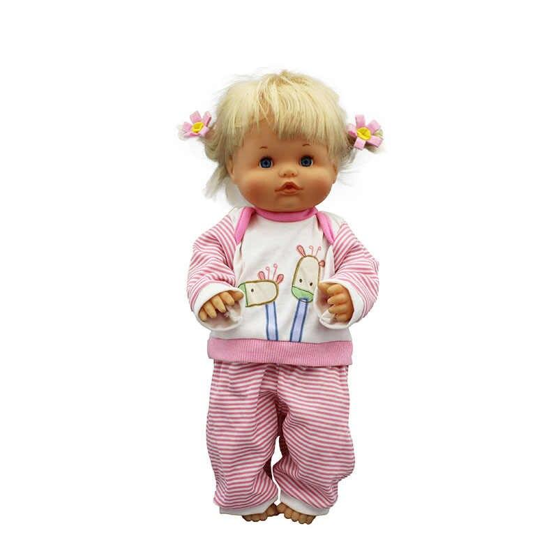Ropa de ocio de talla grande 42 cm muñeca de nanuco y accesorios para muñecas de su hermana