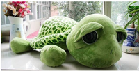 Tortuga de peluche de 20cm para niños y adultos, Animal de peluche, tortuga con ojos grandes, juguete creativo para cumpleaños y Navidad