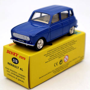 Atlas 1/43 Dinky Toys 518 Renault 4L Diecast Models Car Collection Auto gift(China)