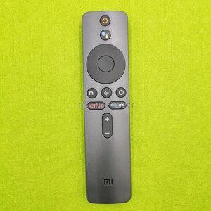 Image 1 - Controle remoto de voz original XMRM 00A para xiaomi mi tv 4x 50 L65M5 5SIN 4k 43 polegadas led tv com google assistente