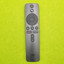 original voice remote control  XMRM 00A for Xiaomi Mi TV 4X 50  L65M5 5SIN 4K 43 inch  led tv  with Google Assistant