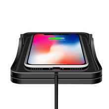 C7 Multifunction Dashboard Stand Phone Holder Fast Charging Universal Wireless Car Charger Pad Multi Protection Anti Slip