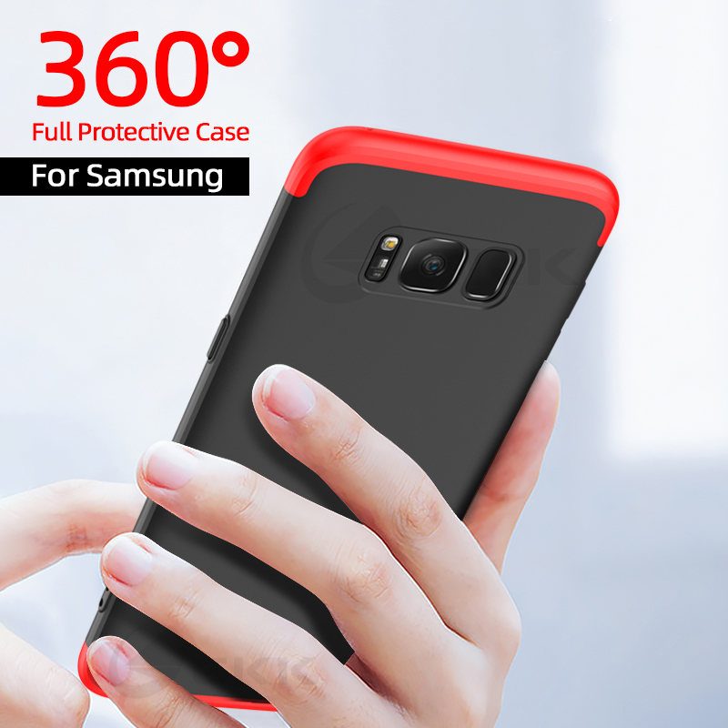 360 Full Protective Case For Samsung Galaxy S20 S10 S9 S8 Plus Lite Ultra Shockproof Case For Samsung S10 S9 S6 S7 Edge Note 9 8