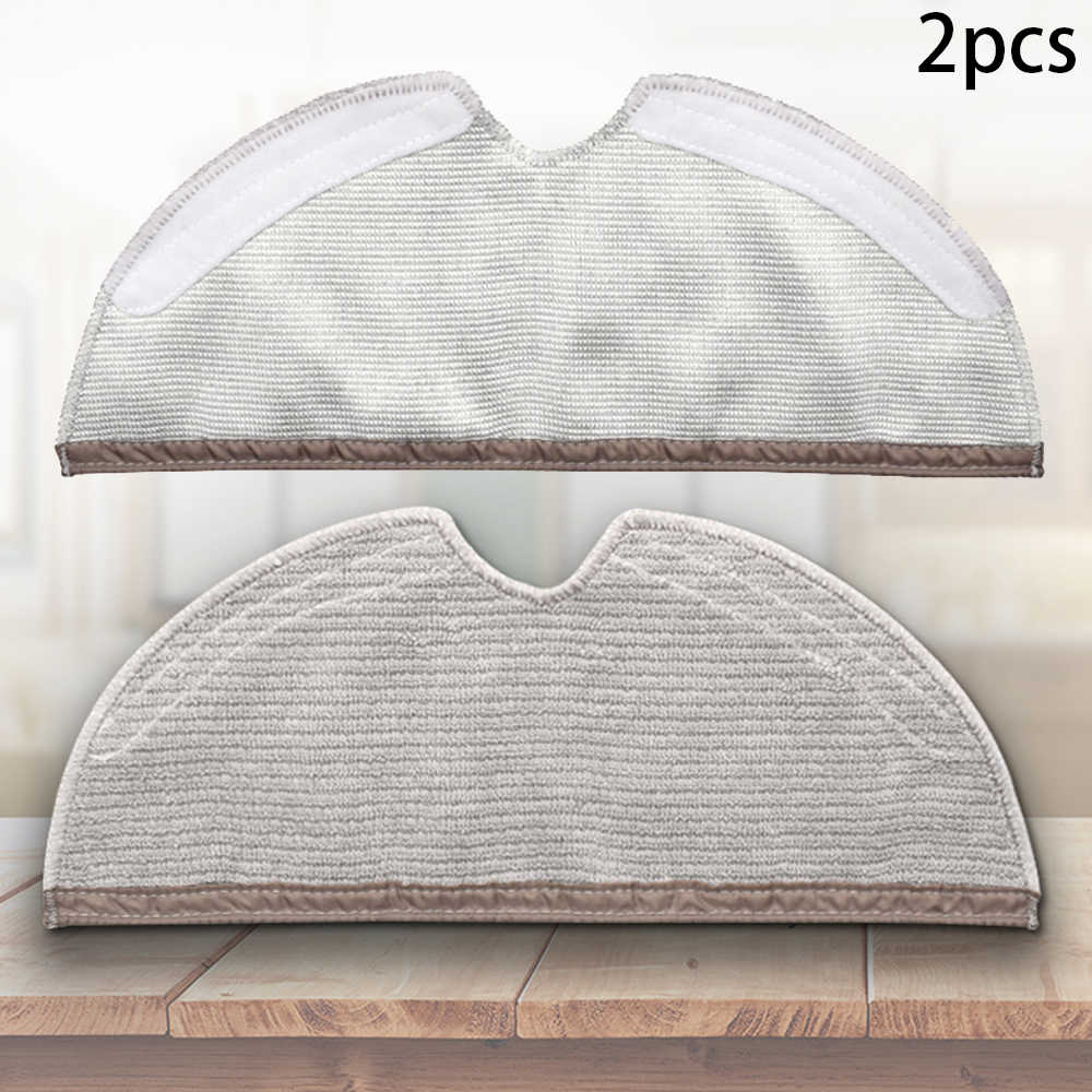 2Pcs//set Mopping Mop Cloths Cleaning Pads For Xiaomi Roborock S50 S55 S6 Parts