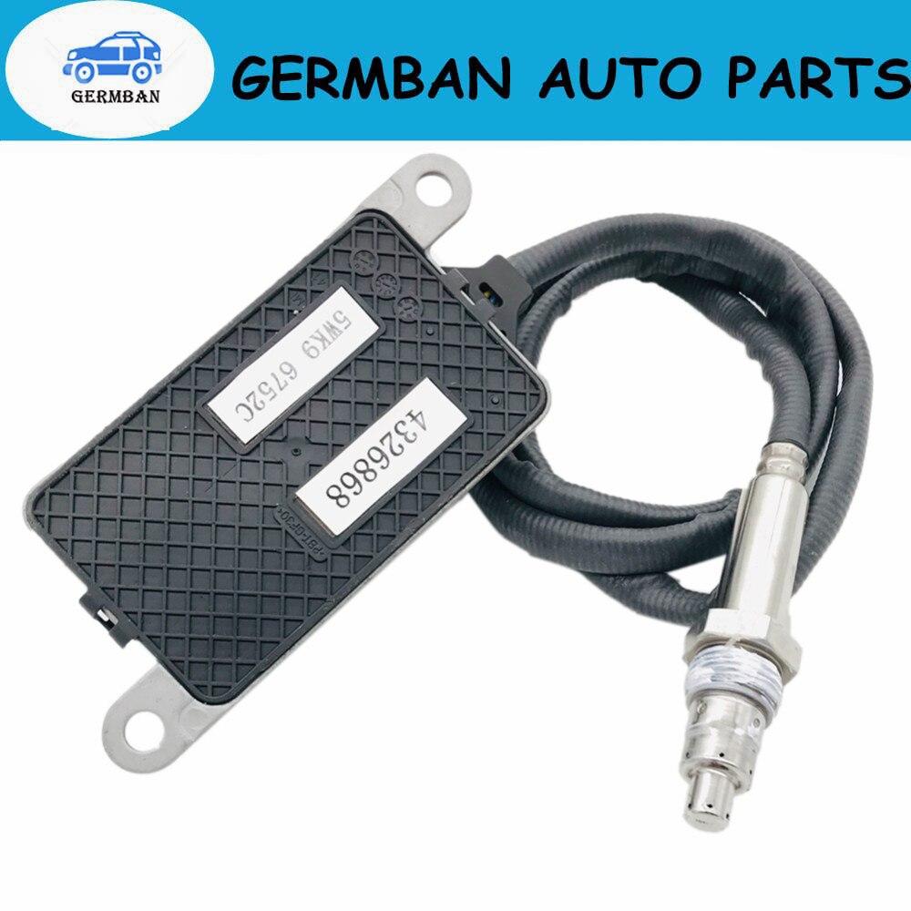 5WK96752C NOx Sensor Nitrogen Oxide Sensor Fits For Cummins 5WK9 6752C 4326868 12/24V