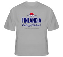 Finlandia Klasik Vodka Finlandia Minum T Shirt(China)