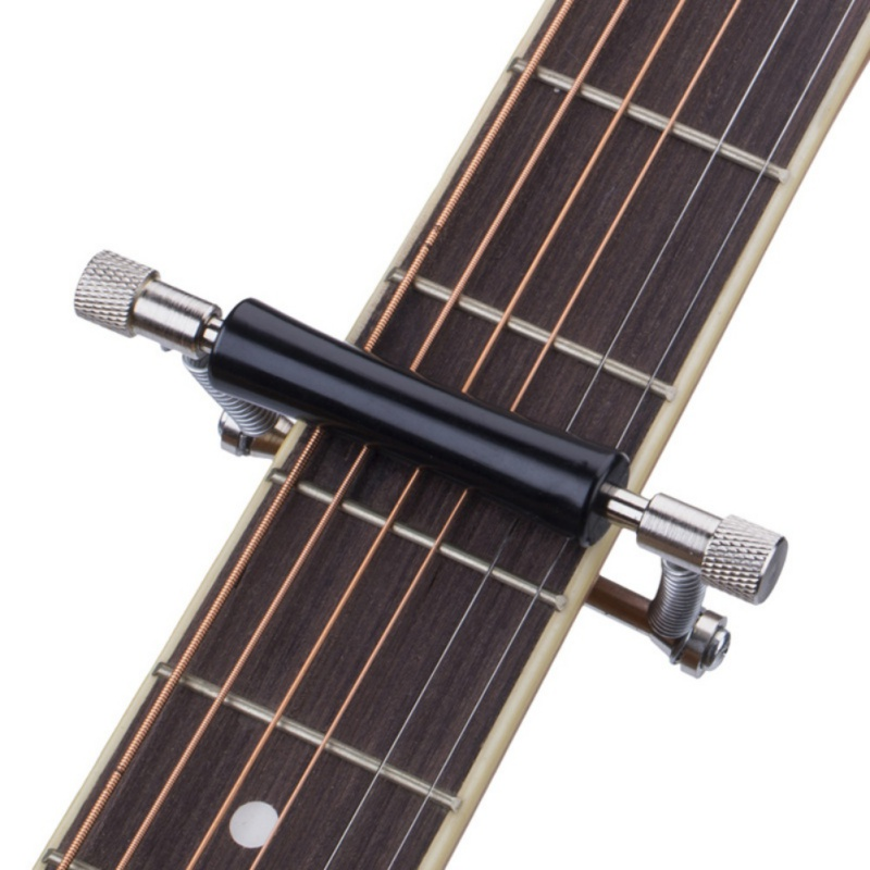 Slide Capo Rolling Guitar Capo Easy Sliding Up & Down Metal Rolling Guitar Capo For Folk Classic Acoustic Guitars Classic