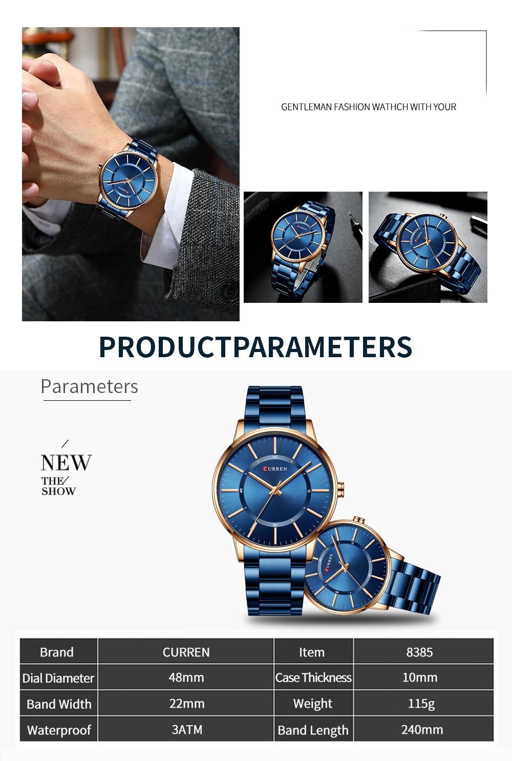 curren 8385 Men's Watch
