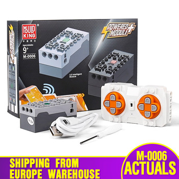 MOULD KING 8878 Technic Car Parts APP Motor Function Remote Contorl 4.0 Intelligent Module For 42009 Car Model Building Blocks image