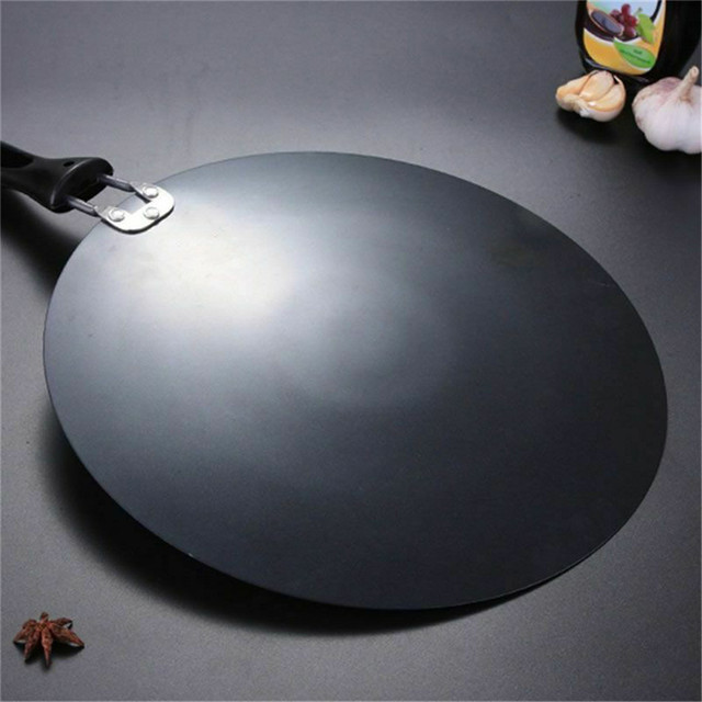 TTLIFE 30cm Kitchen Griddle Pan Non-stick Grill Cast Iron Omelet Crepe Round Cookware Pancake Pan 3