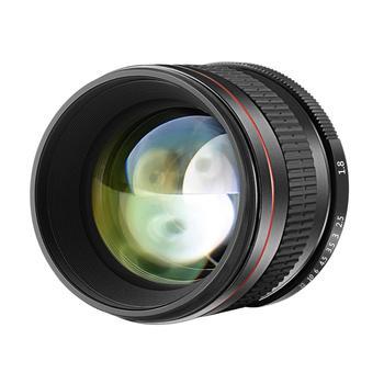 Neewer 85mm f/1.8 Manual Focus Aspherical Medium Telephoto Lens for APS-C DSLR For Nikon D5 D4s D4 D3x Df D810 D800 D750 camera lens adapter with optical glass infinity focus f minolta md mc mount lens to nikon dslr d750 d610 d5600 d7000 d7200 d800