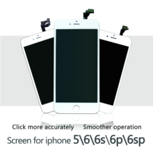 White&Black AAAAA Brand New For iPhone 6 6S 6 Plus 6sp LCD Display Touch Screen Digitizer Assembly For iPhone 5 No Dead Pixel все цены