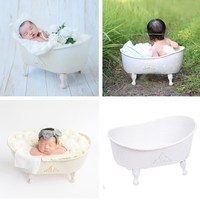 Newborn Photography Prop Baby Photography Props Iron Bath Props Posing Studio Newborn Photography Accessori for Fotografi Shoot