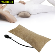 Almohada inflable de aire portátil multifuncional para dolor de espalda baja, cojín de soporte Lumbar ortopédico