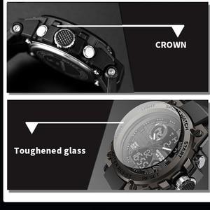 Image 4 - Sport Heren Horloge Topmerk Luxe Militaire Quartz Elektronische Horloges Waterdicht Vibratie Wekker Relogio Masculino Sanda