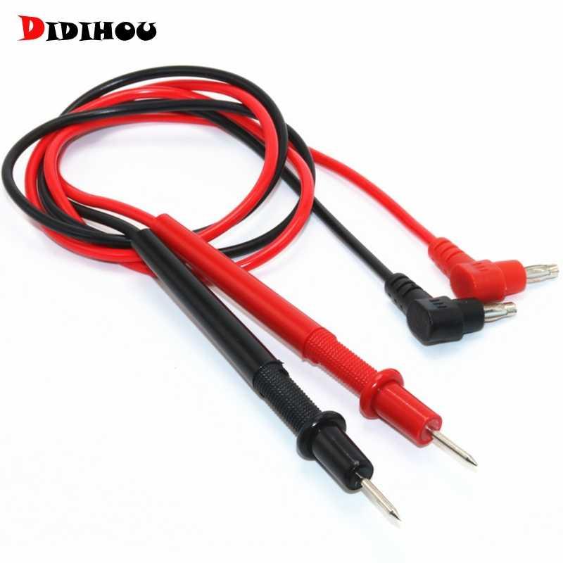 DIDIHOU multimetr sonda uniwersalne przewody pomiarowe Pin dla miernik cyfrowy końcówka igłowa kabel z drutu profesjonalny tester detektor