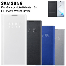 Samsung LEDดูกระเป๋าสตางค์สำหรับGalaxyหมายเหตุ10 Plus Note10 5GหมายเหตุX Sleepกระเป๋า