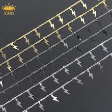 Распродажа 5 метров 4x15 мм маленькая фотозвеньевая цепь изготовление