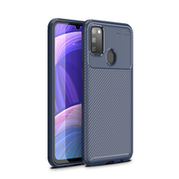 style protective For Samsung Galaxy M30S Case Business Style Silicone Shell TPU Back Phone Cover For Galaxy M30S Protective Case For Samsung M30S (2)