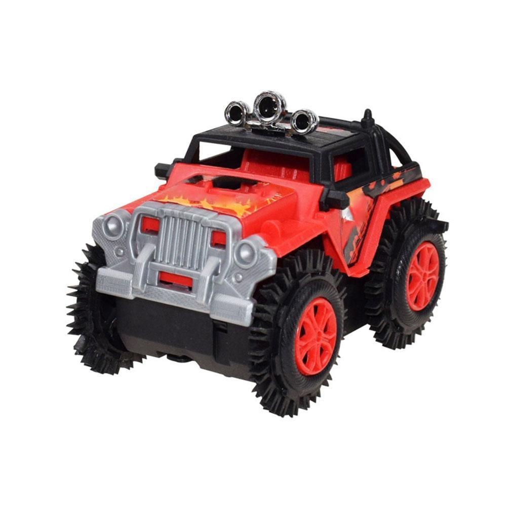Children Electric Stunt Toy Car For Children Dump Truck 4 Gifts Car Drive Christmas Wheels Simulation Toy S0U8