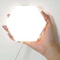 2019 New DIY Quantum Lamp Touch Sensitive Night Lamp Modular Hexagon luminaria Creative Decoration Touch lamparas wall light