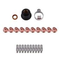 S45 CUT55 PT 40 PT40 IPT 40 PT 60 PT60 PTM 60 IPT 60 Plasma Torch Cutter Consumables Kit Trafimet 0.9mm 40A|Wire EDM Machine| |  -