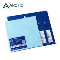 Almofada térmica ártica 6.0 com condutibilidade mk 0.5mm 1.0mm 1.5mm esteira térmica 145*145mm adesivo termicamente condutor|null| |  -