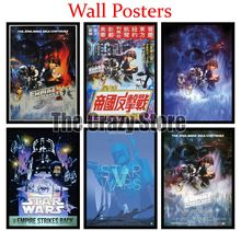 Star Wars Episode V The Empire Strikes Back Film White Kraft Paper Poster Home Decor Painting classic prints 42X30cm майка борцовка print bar empire strikes back