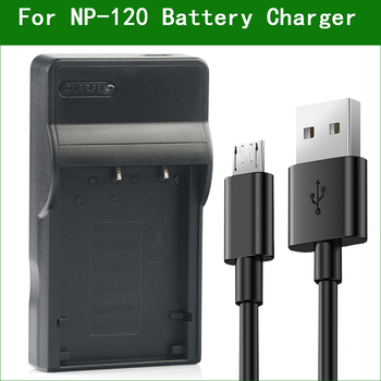 NP-120 NP-120B FNP120 Digital Camera Battery Charger For FUJIFILM FinePix 603 F10 F11 M603 Zoom image