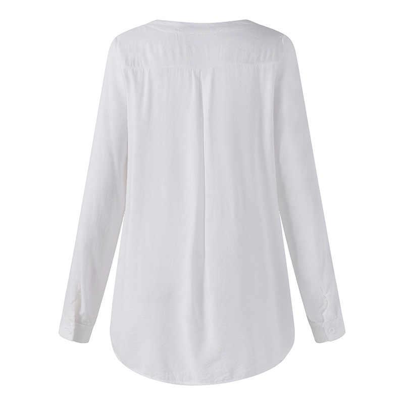 32 # YUZAO 4 カラー S-5XL レディースレディース長袖刺繍レースゆるいだぶだぶカジュアル Tシャツブラウストップス