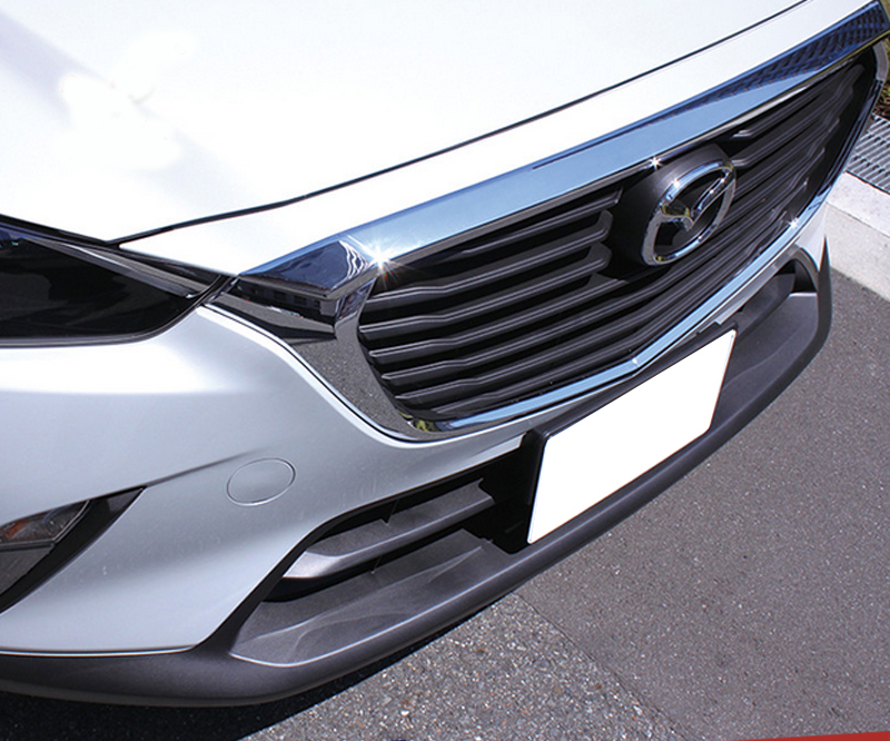 ABS Chrome Accessories Fit For 2015 2016 <font><b>2017</b></font> 2018 <font><b>Mazda</b></font> <font><b>CX</b></font>-<font><b>3</b></font> <font><b>CX</b></font> <font><b>3</b></font> CX3 Engine Cover Trim Garnish Hood Guard image