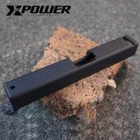 XPOWER G17 GEN4 Metal Slide Metal GBB Gas Blow Back Gel Blaster Accessories Upgrade Air soft War game Outdoor Sports