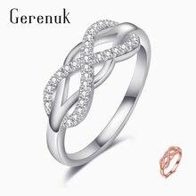Gerenuk cz роскошное кольцо с цирконием для женщин продолбленные