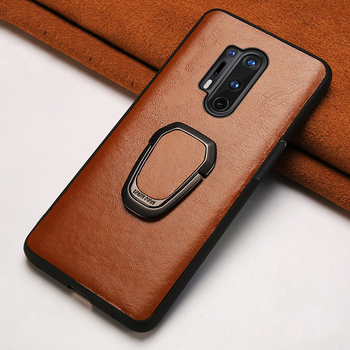 Original Oil Wax Leather Magnetic Holder Phone Case for Oneplus 8 8 Pro 8T Nord 7T Pro 7 Pro 6 6T Case Cover One Plus 7 8 5 5T