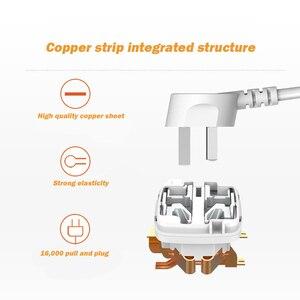 Image 2 - Power Streifen 1/2/3/4/5 Weg AC Universal Outlets Steckdose mit USB Einzeln Schalter Verlängerung Kabel Surge/Überlast Schutz