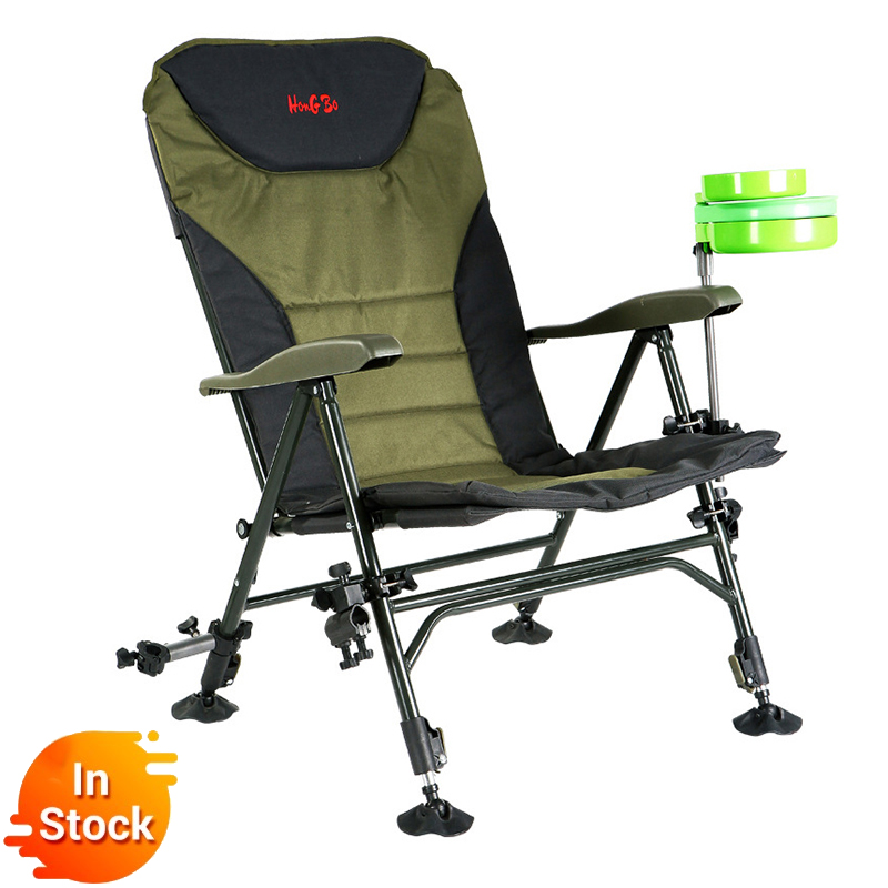 2019 Beach With Bag Portable Folding Chairs Outdoor Picnic BBQ   Fishing Camping Chair Seat  Oxford Cloth Lightweight Seat For