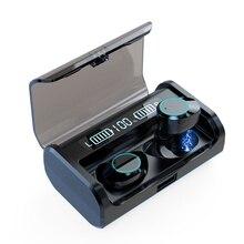 G06 TWS True беспроводной Bluetooth 5,0 наушники мощный светодиодный дисплей гарнитуры с микрофоном 4000 мАч зарядный чехол водонепроницаемые наушники