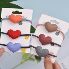 High Quality Popular Solid Elastic Hair Bands Love Headband Women Animal Rubber Band Lady Letters Accessories Scrunc