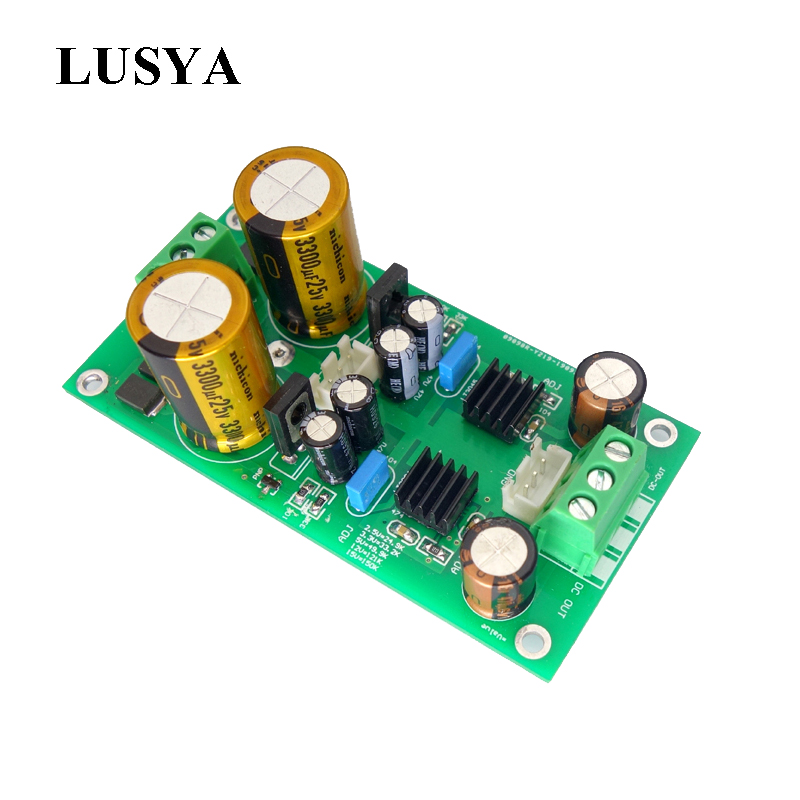 Lusya Regulated Linear Power Supply Lt3045 Lt3094 Positive Negative Voltage Low Noise For DAC Preamp T1088