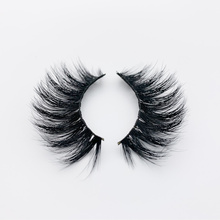 YuBeauty 3D Mink Lashes Real Eyelashes Natural Long Criss-Cross Thick Curly CM-Series