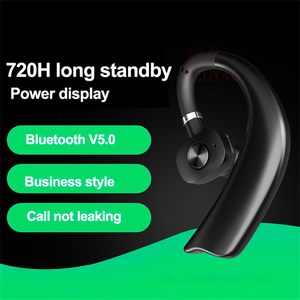 Image 4 - MEUYAG Wireless Bluetooth Earphone Stereo Handsfree Business Headset With Mic Noise Control Ear hook Earphones New For iPhone XR