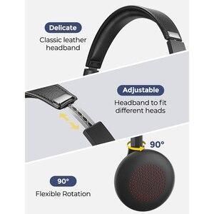 Image 5 - Cuffie Wireless Mpow HC5 aggiornate cuffie Bluetooth 5.0 con microfono CVC8.0 a cancellazione di rumore per telefono PC Computer Office